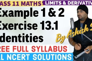 Animated Online Video Lectures explaining Examples and NCERT Solutions for Exercise 13.1 L...