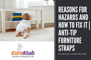 As the Anti-tip Furniture straps are placed on the back, you cannot see the straps from th...