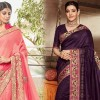 Buy fancy sarees online at best price. Buy high-quality material fancy sarees at best price from Fabfunda online with COD and free shipping. A Fancy saree has various colors and designs of best fancy sarees online in India.
