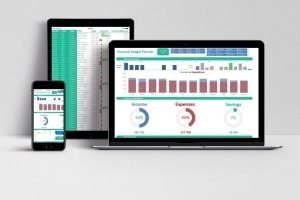 Dashboard Personal Budget Planner is a great tool with quick access to budget comparison a...