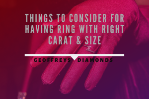 Diamond engagement rings must be perfect in every aspect. When you determine the setting, ...