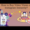 Do you eagerly want to gain lots of real and unique viewers on your Instagram video quickly? You need to create marvelous and superb Instagram video and post it on your profile to get your video at the top of the searching list. You can buy Instagram video views to earn huge amount of sales to improve status of your business Instantly.