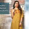 Fancy Kurtis - Shop stylish fancy kurtis online for women in various colors and patterns. Buy fancy kurtis at best prices on Fabfunda.com.