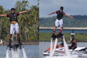 Flyboarding in Goa is a very adventurous sport which can surely help you remain engaged an...