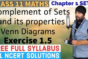 Get expert created video lecture explaining NCERT Solutions for Exercise 1.5 of Chapter 1 ...