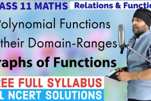 Get Online Video Lectures for Relations and Functions Class 11 Maths prepared by Expert Te...