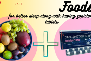 Here is the list of best foods and beverages you can take before bed along with Zopiclone ...