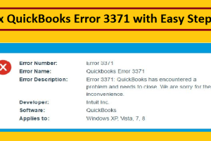 If you are facing QuickBooks Error- 3371, then here is the complete step by step guide to ...