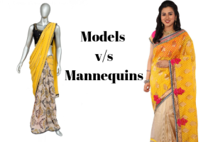 Model and Mannequins are two ways of promoting products on the website's product videos or...