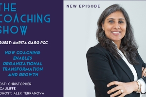 """On July 11th Amrita appeared on The Coaching Show, an emerging podcast that features up..."