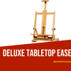 People looking for space-economy easels normally target Deluxe Tabletop Easel , If you looking to buy one, we provided pros n cons of Deluxe Tabletop Easel