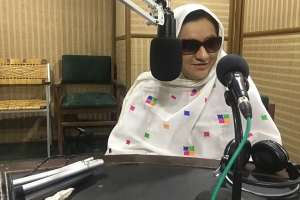 PESHAWAR: Four times each month, Rehana Gul positions herself behind the radio console at ...