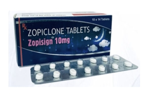 Sleeping problem is known as Insomnia disorder, Zopisign 10mg is the best tablet to treat ...