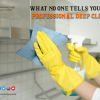 Some individuals may argue that when paying for local help, there is a need to employ deep cleaning services. In professionalism, the difference is. Here, without judging you or your waste, the housekeeping services will clean you carefully. Both of them are unbiased and just doing their work. To the squad, all the things used are brought.