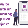 Sparx IT Solutions has immense gratitude for eLearning apps like Byju's for strengthening the falling pillars of the traditional education system. With the contribution of such apps, the global eLearning industry market is expected to surpass 243 billion U.S. dollars by 2022.