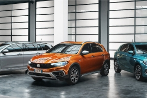 The Fiat Tipo has been renewed: a complete restyling of the range, new design and techno...