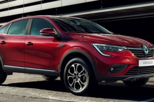 The new Renault ARKANA blends refined shapes and robust style. It has an aerodynamic roof,...
