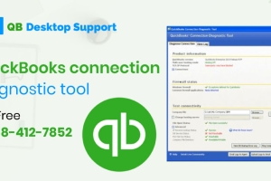 The QuickBooks Connection diagnostic tool assists its users in solving data file damages, ...