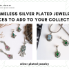 Timeless Silver Plated Jewelry Pieces To Add To Your Collection Your day to day outfits can be taken up a notch by adding the right jewelry, and silver plated 1