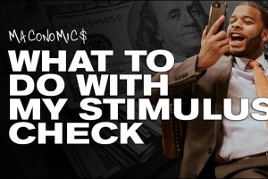 Wall Street's premier rapper Ross Mac shares tips on what to do with your stimulus check c...