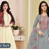 We provide here all Salwar Suits online at best price. Buy high-quality material salwar suits at best price from Fabfunda online with COD and free shipping. A Salwar suit has various colors and designs of best salwar suits online in India.