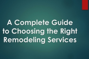 What should you choose? the overall best remodeling contractor or the best remodeling cont...