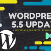 WordPress 5.5 will be released on August 11, 2020. This is the second major release of WordPress in 2020. WordPress 5.5 Update 2020,