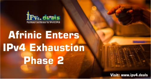 AFRINIC Enters IPv4 Exhaustion Phase 2, A vision to have just one world of IPv6 addresses ...