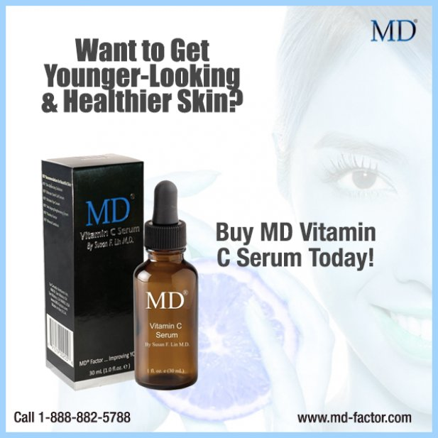 Are you looking for female skincare products to glow your skin? MD Factor offers Vitamin C...