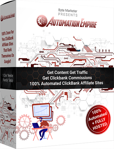 "Automation Empire Review - Get 12 Fully Automated ""100% Done For You"" ClickBank Affili..."