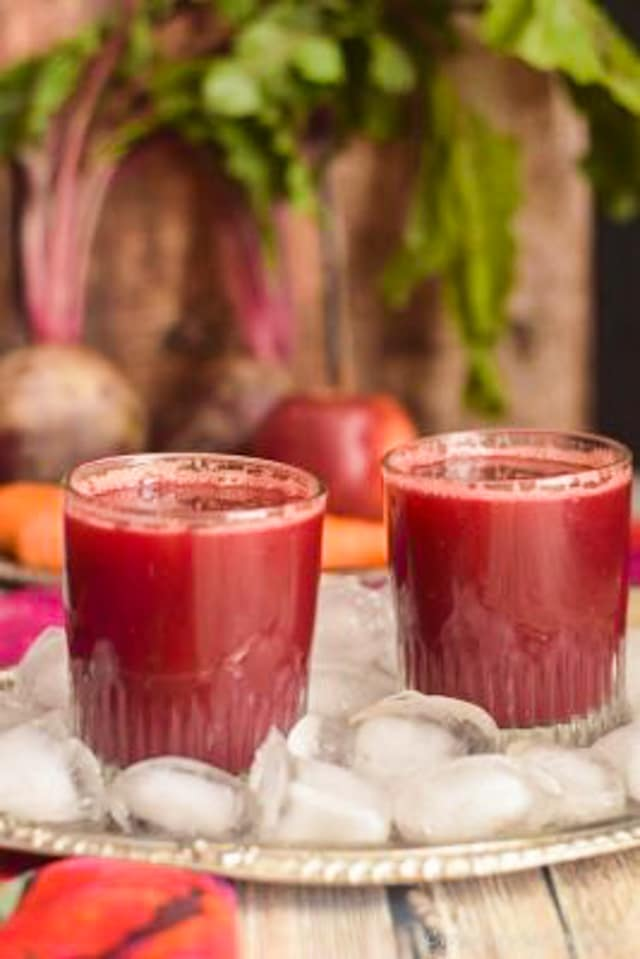 A very healthy and refreshing beetroot, carrot, and apple detox juice. What is detox juice...