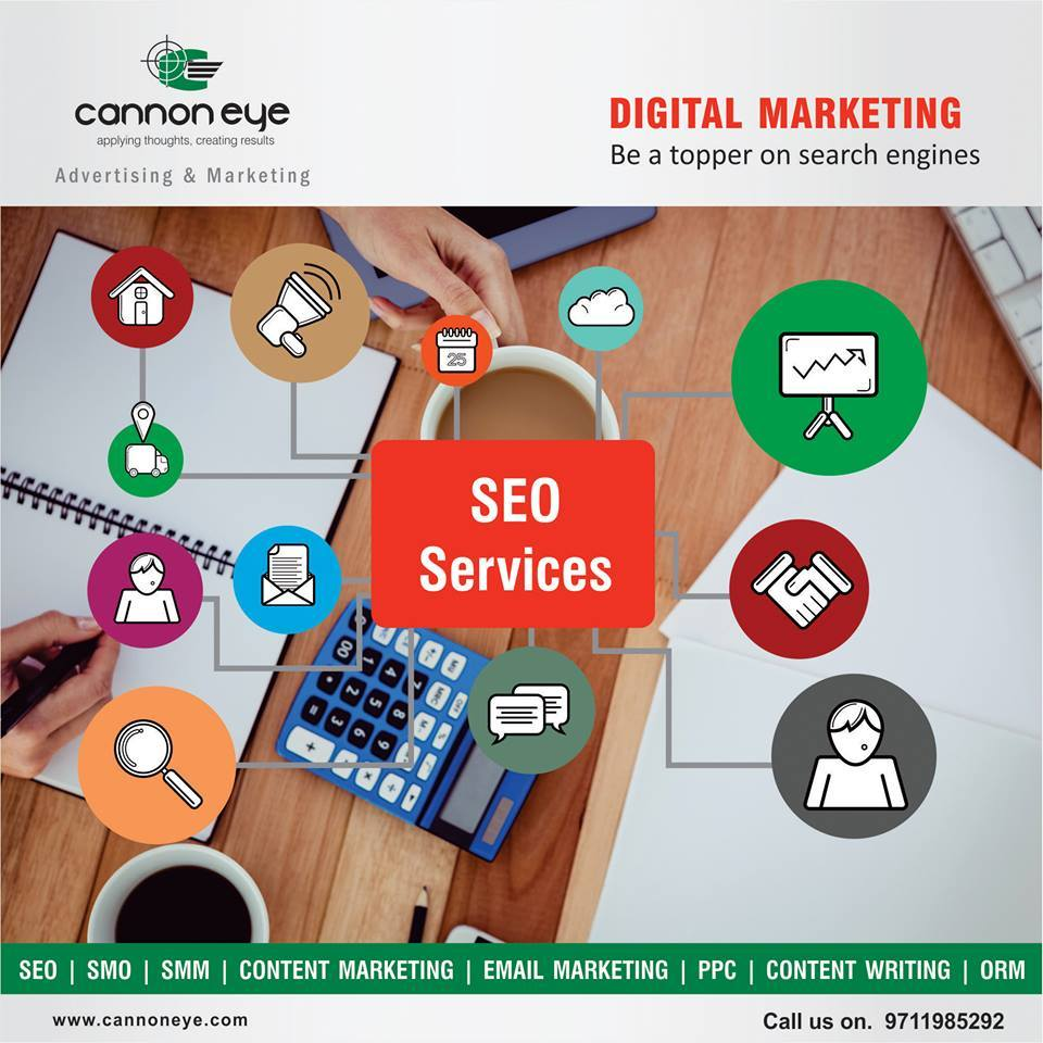 cannon eye provides professional SEO services that not only keep your website on top but a...
