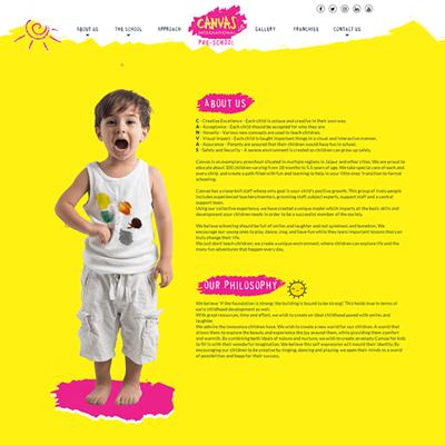 Canvas International Preschool is India's one of the most satisfactory preschools in India...