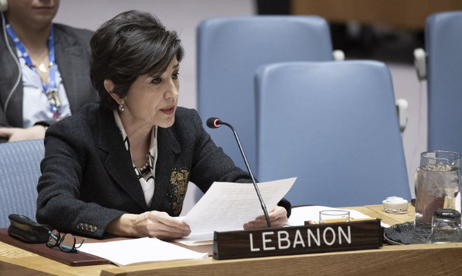 CHICAGO: Lebanon's ambassador to the UN, Amal Mudallali, has called on the public to giv...