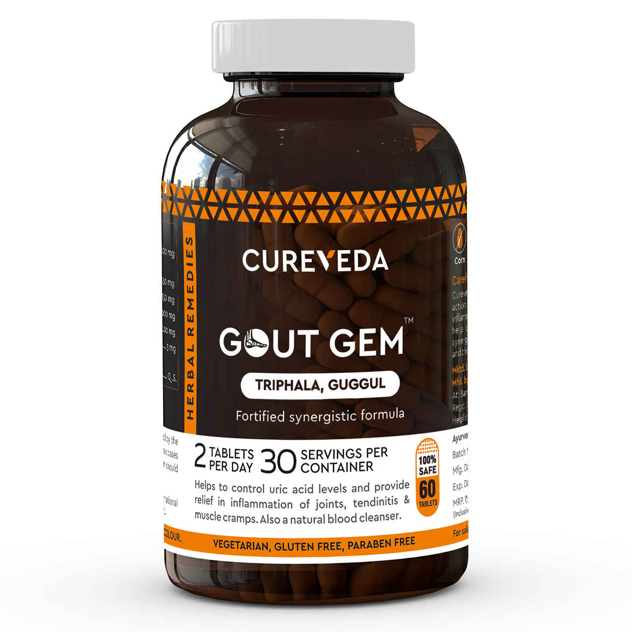 Cureveda provide organic herbal gout supplements. It's best to control uric acid and use...