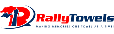 Custom face masks by Rally Towels can be completely customized to proudly display your com...