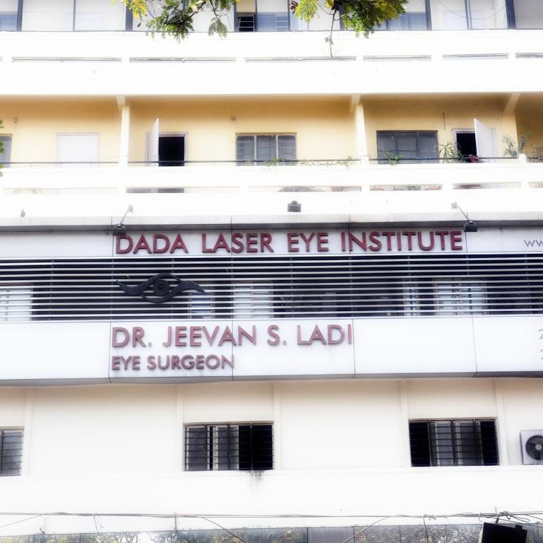 Dr. Jeevan Ladi at the Dada Laser Eye Institute. Dr. Ladi established the Dada Laser Eye I...