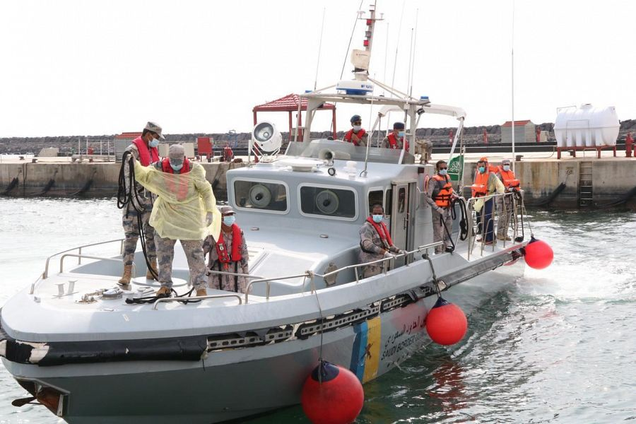 DUBAI: Jeddah's Maritime Rescue Coordination Center evacuated a sick Turkish sailor aboa...