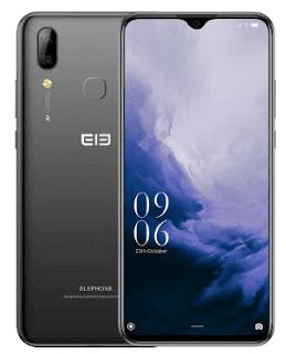 Elephone A6 MAX 6.53 Inch 4GB 64GB Android 9.0 Smartphone MT6762V Quad Core 20MP Fingerpri...