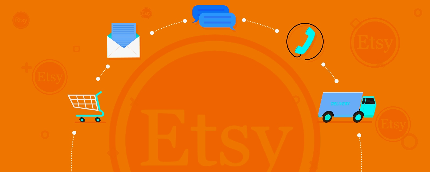 Etsy customer service helps you to know about the return policy as well as the refund proc...