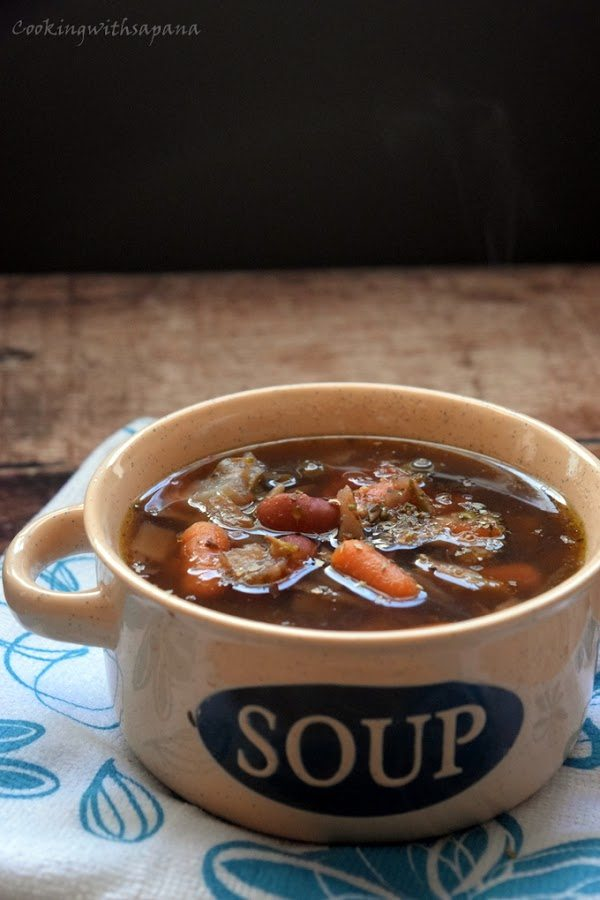 Facebook0Tweet0Pin0 Yummly0 Roasted tomato and vegetable soup, Today's recipe is the sim...