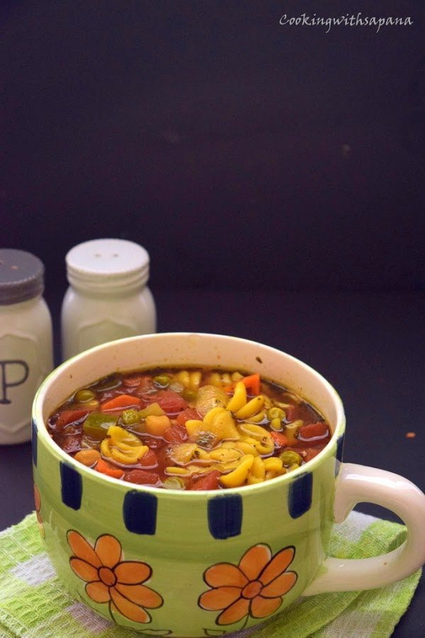 Facebook0Tweet0Pin0 Yummly0 Moroccan style vegetable and pasta soup ,Today's soup is ble...