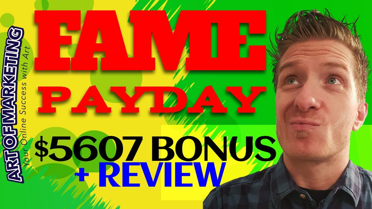 Fame Payday Review! What is Fame Payday by Tom E and Vick Carty and do you need it? Well, ...
