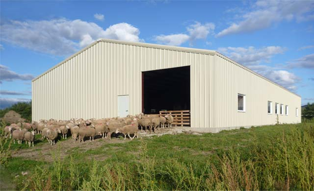 Farm Steel Building in Ontario, Toronto, Canada - For any kind of utilization using steel ...