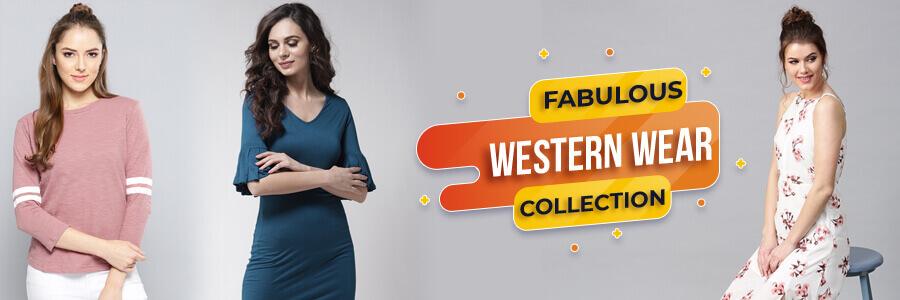 Get best western wear online for ladies at best wholesale price in Surat from Fabfunda. Yo...
