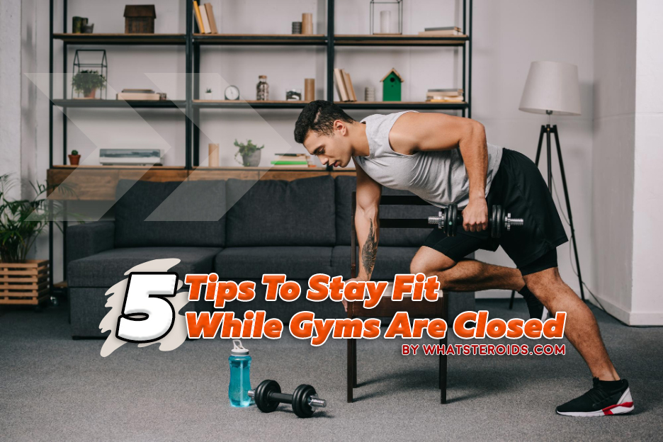 Great article about 5 Fitness Tips While Gyms Are Closed, and lots of products for a bette...