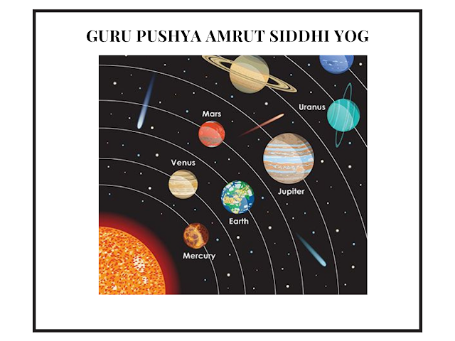 Guru Pushya Amrut Siddhi Yog falls on 31st December 2020, Amrit Siddhi Yog