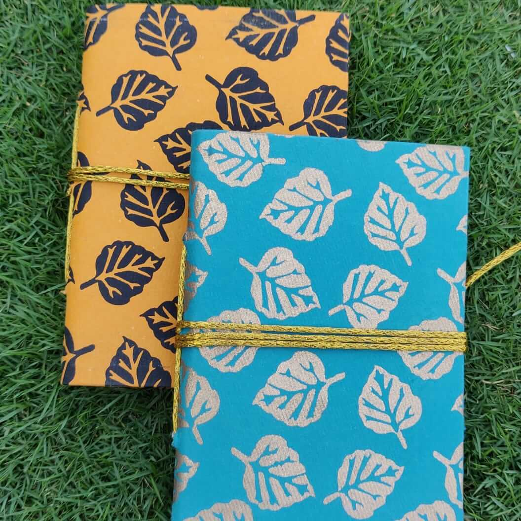 Handmade Notebooks are eco friendly, sustainable Notebooks made from 100% handmade paper i...