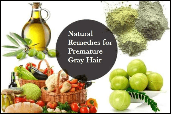 Herbal Treatment for Premature Gray Hair that can help in slowing down greying. Natural re...