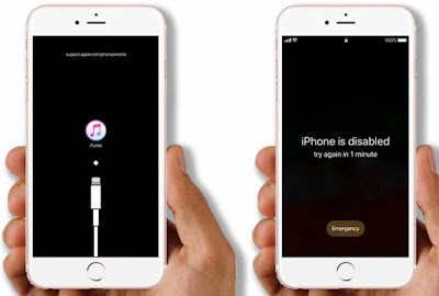 How to unlock your iPhone/iPad? If your iPhone is showing a message on its screen that say...